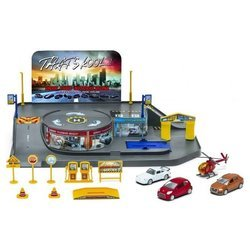 Welly City Garage Playset 96010