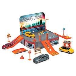 Welly City Garage Playset 96020