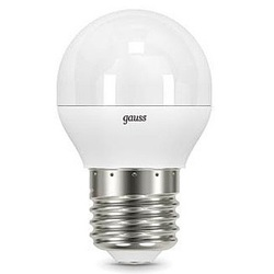 Gauss LED Globe E27 9.5W 4100K