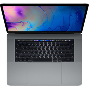 "Apple MacBook Pro 15 with Retina display and Touch Bar 2019 (Intel Core i7 2600 MHz/15.4""/2880x1800/32GB/256Gb SSD/DVD нет/Radeon Pro 555X 4Gb/Wi-Fi/Bluetooth/macOS) (Z0WV00068) (серый космос)"